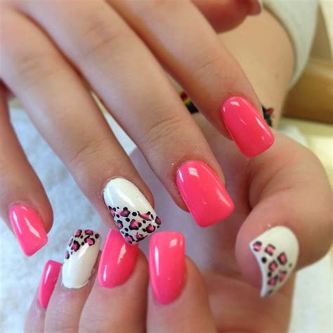 pattern acrylic nails summer acrylic nail designs