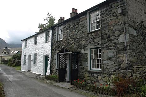 Rosthwaite Cottages by Cumbria Gazetteer Howe Cottages Rosthwaite