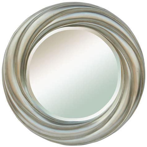 round silver bevelled mirror mirrors mirrors ireland silver bevelled framed mirror mirrors