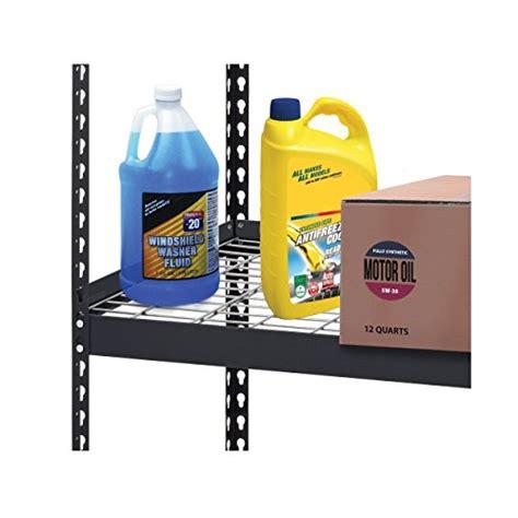 edsal heavy duty steel shelving edsal trk 602478w5 heavy duty steel shelving in black