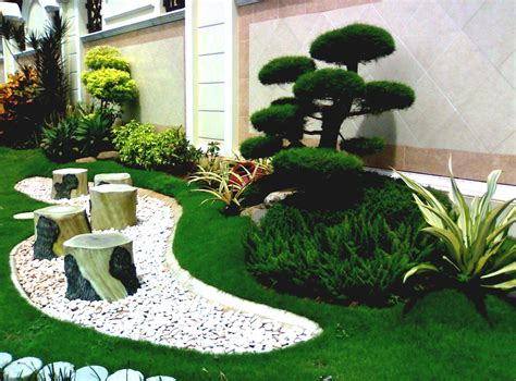 simple japanese garden design of softnethouse homelk