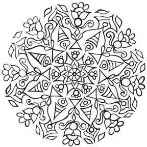Eye Pop Art Free Mandala Coloring Pages For You And