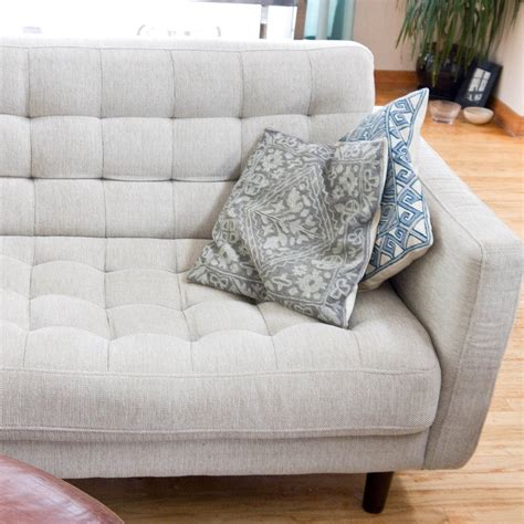 how to clean fabric sofa how to clean a natural fabric couch popsugar smart living