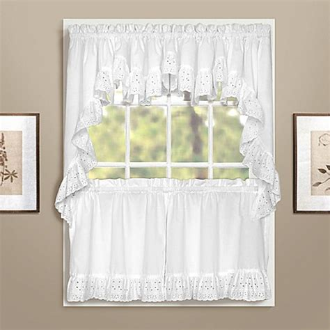 tier curtains and valances vienna window curtain tier pair and valances bed bath