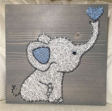 Elephant String - 25 best ideas about elephant crafts on
