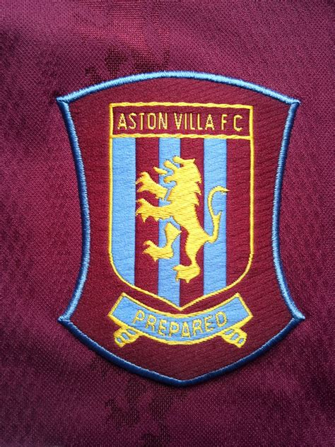 aston villa home football shirt 1995 1997 added on 2015