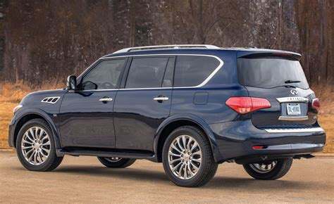 infiniti car qx80 2015 infiniti qx80 rear view photo 19