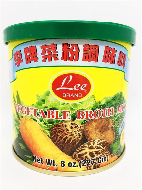 lee brand vegetable broth mix   buy asian food