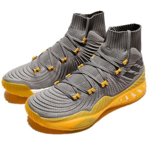 Sepatu Basket Adidas Explosive Primeknit Grey the adidas explosive 17 primeknit grey available