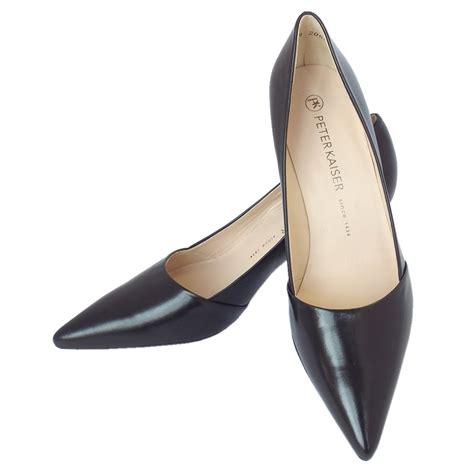 slippers heels kaiser semitara s mid heel pointy shoe in