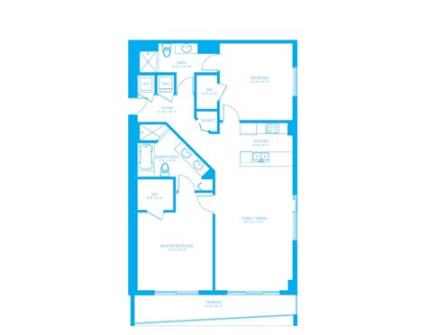 500 brickell floor plans 500 brickell floor plan 3 af real estate