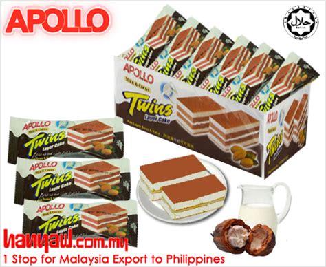 Apollo Layer Cake Isi 24 Pcs apollo layer cake milk cocoa 2010 hanyaw malaysia 1