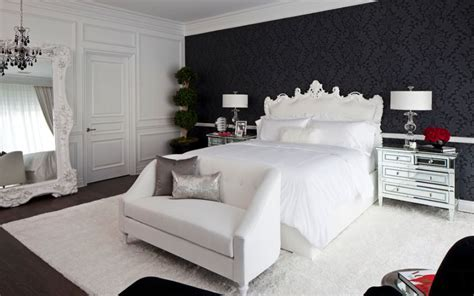 timeless black  white bedrooms