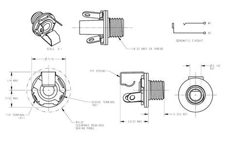 electric guitar input wiring diagram