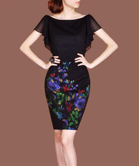 2014 spring office wearing elegant vintage dress ruffle