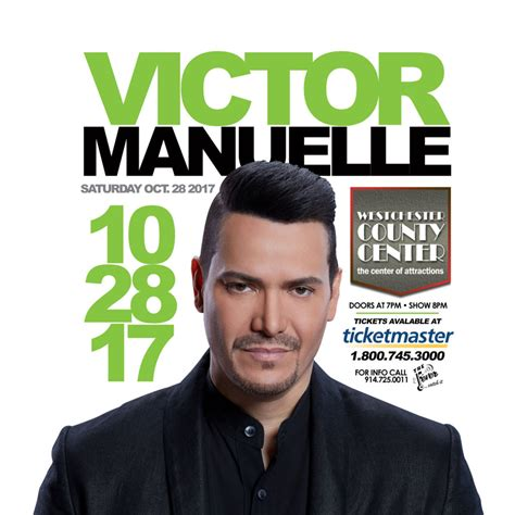 Westchester Records Victor Manuelle Live In Concert The Westchester County Center Fever Records