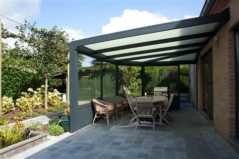 re de patio en aluminium veranclassic pergola semi ferm 233 e en aluminium