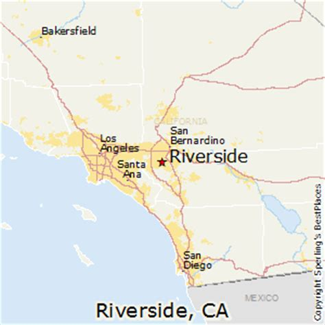 us map riverside california best places to live in riverside california