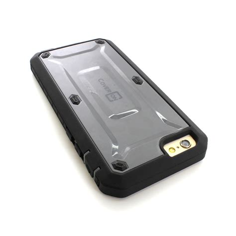 Rugged Armor Hybrid Iphone 6 Plus protective hybrid armor rugged phone cover for apple