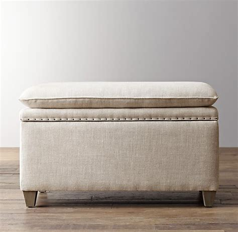 nailhead storage bench classic nailhead upholstered storage bench
