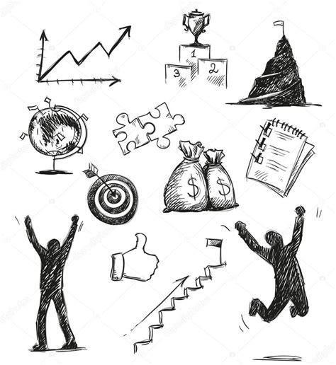 917 Sketches Of Success by Freihand Skizze Erfolg Symbole Erfolg Symbole Vektor