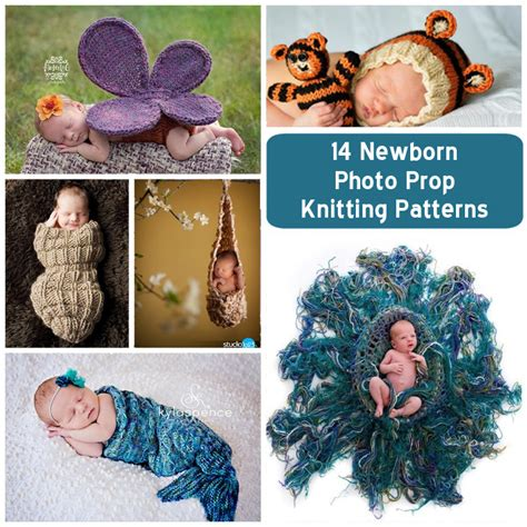 knitted baby props 13 oh so adorable newborn knitting patterns