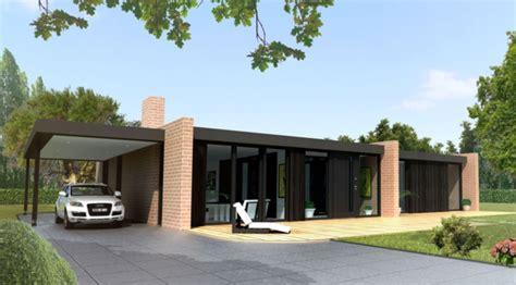 Garage Maison Moderne Interieur by La Maison Plain Pied Moderne