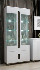 high gloss doors 171 aluminum glass cabinet doors lorenz high gloss white display cabinet 2 glass door with lights ebay