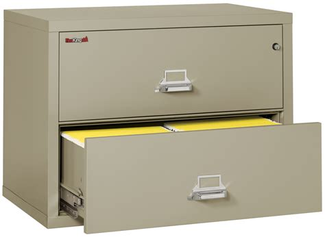 fireking lateral file cabinet fireproof fireking 2 lateral 38 quot wide file cabinet
