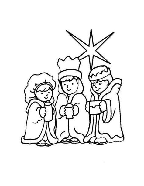 dibujos de navidad para colorear e imprimir reyes magos dibujos para colorear de los reyes magos pequeocio