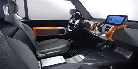 land rover defender interior  autocar review