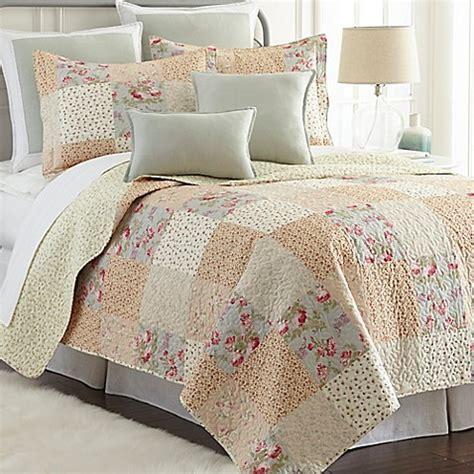 bed bath and beyond riverside sherry kline riverside reversible mini quilt set in cream