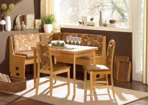 Breakfast Nook Tables by Small Modern Breakfast Nook Table With Banquette Bench And