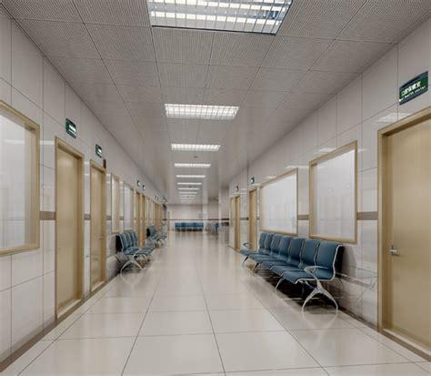 Hospital Interior hospital interior 3d model max cgtrader