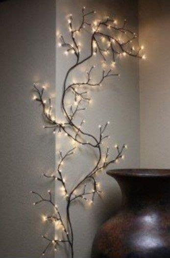lighted trees home decor 8 ft string lights willow branch twig tree lighted wall