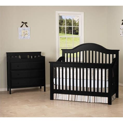 Convertible Baby Crib Sets Davinci 4 In 1 Convertible Crib With Changing Table In M5981e Cribset Pkg