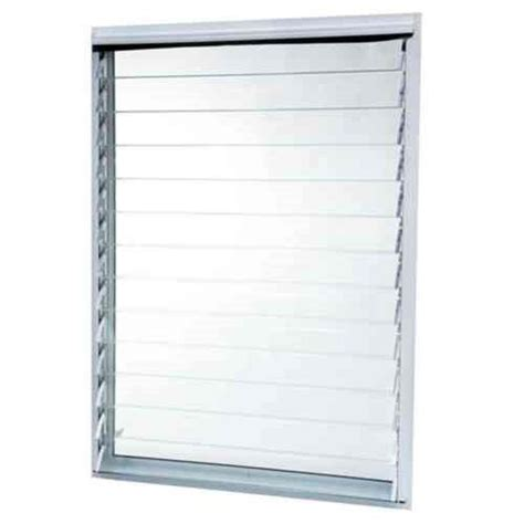 Jalousie 70 X 140 by Tafco Windows 35 In X 47 875 In Jalousie Utility Louver