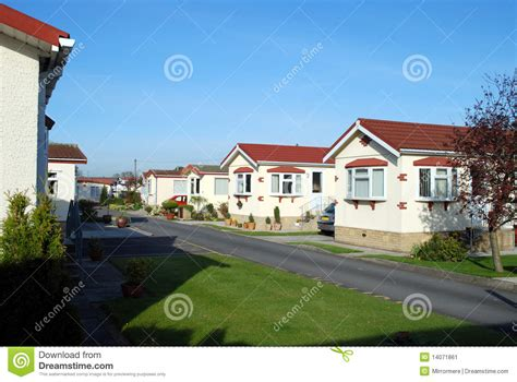 retirement house retirement park homes stock image image 14071861