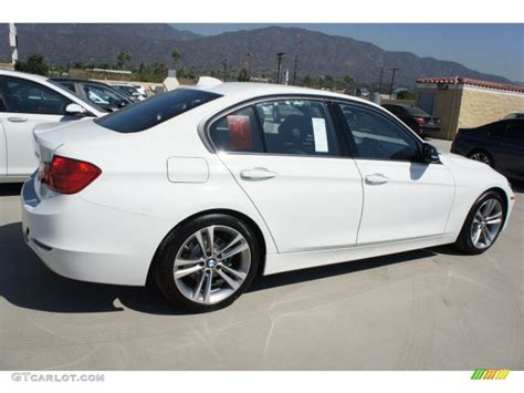 2013 bmw 3 series white alpine white 2013 bmw 3 series 328i sedan exterior photo