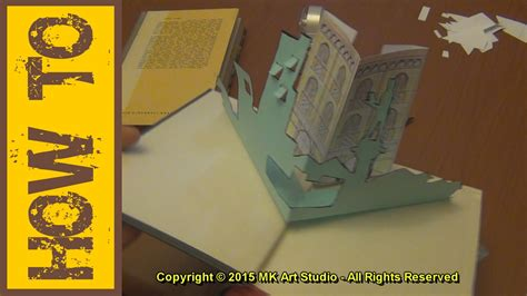 How To Make A Pop Up Book Out Of Paper - how to make pop up book