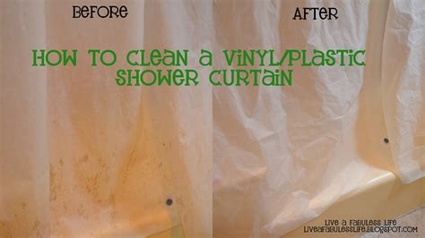 Cleaning A Shower Curtain by How To Clean Vinyl Shower Curtain Image Bathroom 2017