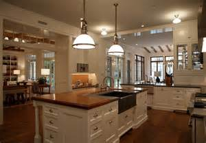 Home Plans With Large Kitchens Classic Home Home Bunch Interior Design Ideas