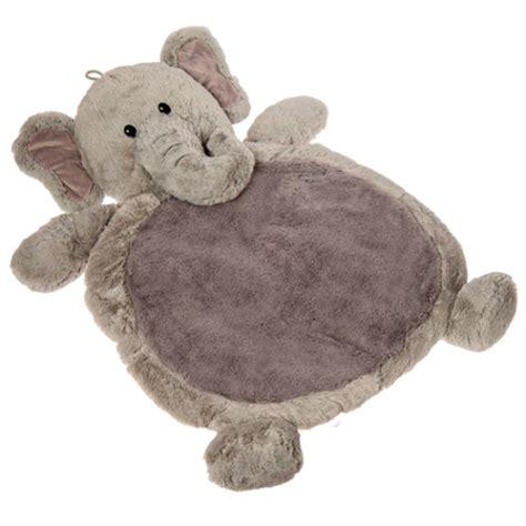 Elephant Baby Floor Rug by Grey Elephant Baby Mat Purple Pumpkin Gifts