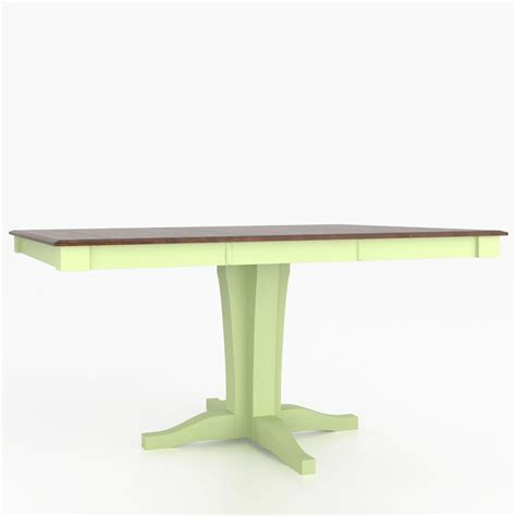 Canadel Dining Tables Canadel Tsq4848xk 1 Custom Dining Classic Traditional Transitional Square Table With Pedestal