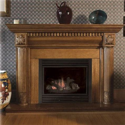 Gas Fireplace Systems by Monessen Cdvt33nv7 33 Inch Gas Direct Vent