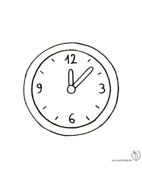 coloring book wall coloring page of wall clock for coloring for