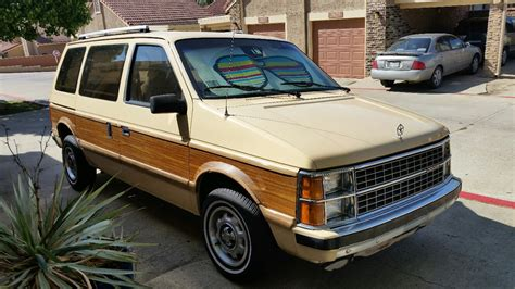 1985 dodge caravan never this nice 1985 dodge caravan