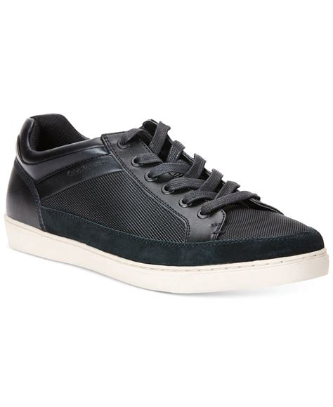 calvin klein sneakers mens calvin klein zal sneakers in black for save 26