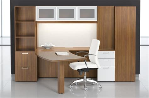 modern wood panel office furniture motiq home