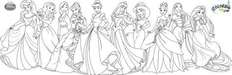 pages of disney princesses all disney princess coloring pages coloring page for